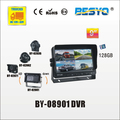 9 inch panel with DVR recorder BY-08901DVR
