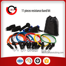 Gymnastic Custom Label Latex Resistance Bands Set