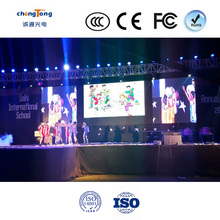 High Resolution and Low Price full color P6 indoor full color RGB rental LED Display for Stage Events 384*126MM from China