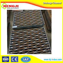 stainless steel trench drain grate , metal drain gratings steel drain grates