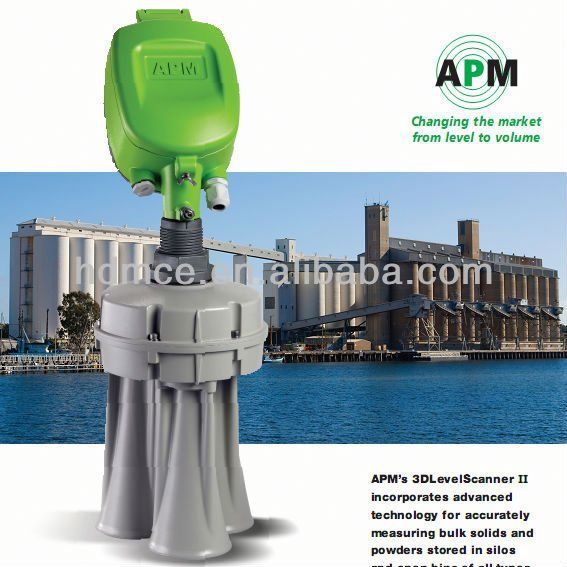 Basic Type Ultrasonic Level Measurement -APM-MV 3D Level Sensor-3D Mapping
