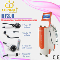 RF3.6 tripolar rf ultrasonic cavitation radio frequency machine for skin tightening