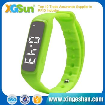 Programmable Color Silicone Rfid Wristband