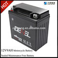 12V 9AH rechargeable maintenance free battery