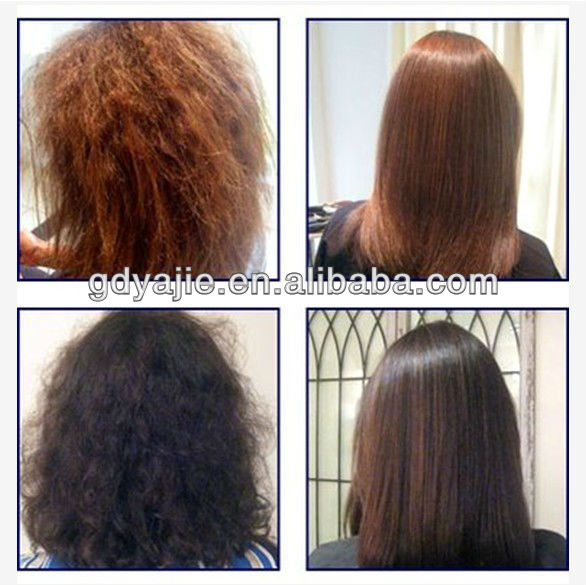 Protein hair keratin collagen treatment for hair repairing and straightening