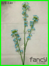 3-branch wholesale cheap artificial chinese rape flower