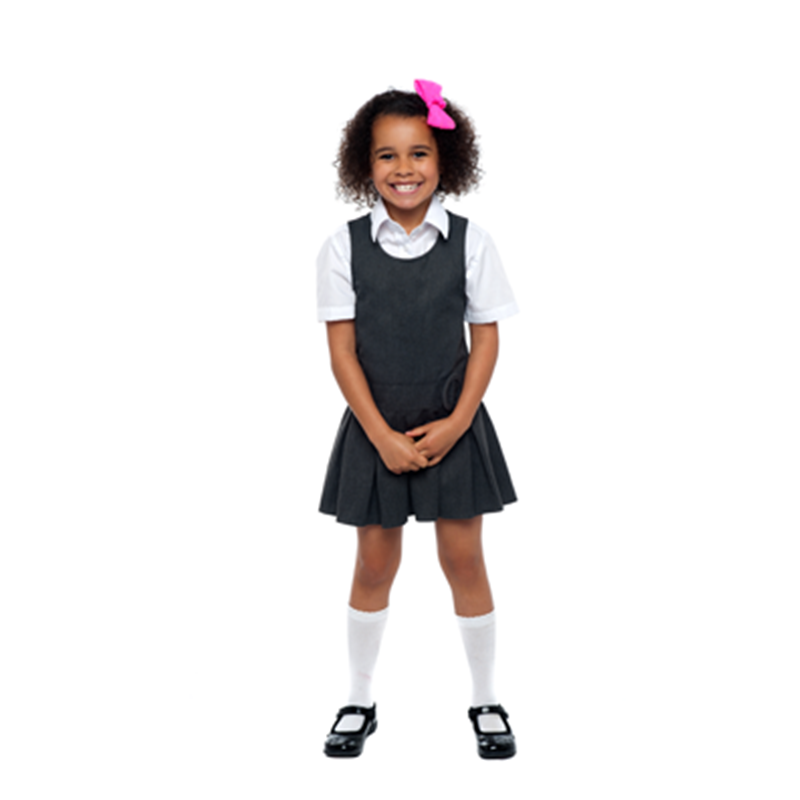 Kids girls school uniforms wholesale