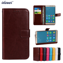 Luxury Flip PU Leather Wallet Mobile phone Cover Case For Xiaomi Redmi Note 3 with Card Holder
