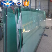 10.76mm 12.76mm PVB film interlayer tempered laminated glass railing for swimming pool