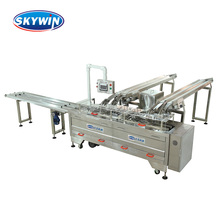 Skywin Biscuit Production Line With One Line Cream/Chocolate Cookies Biscuit Sandwiching Machine