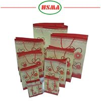 Factory price ldpe plastic giant gift bag clear plastic bag with hang hole