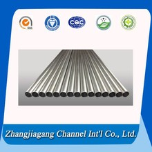 Stainless steel heat exchanger and condenser tube