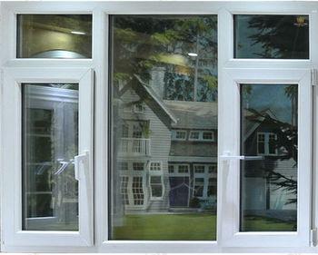Energy Saving Combination Pvc Upvc Casement Windows And