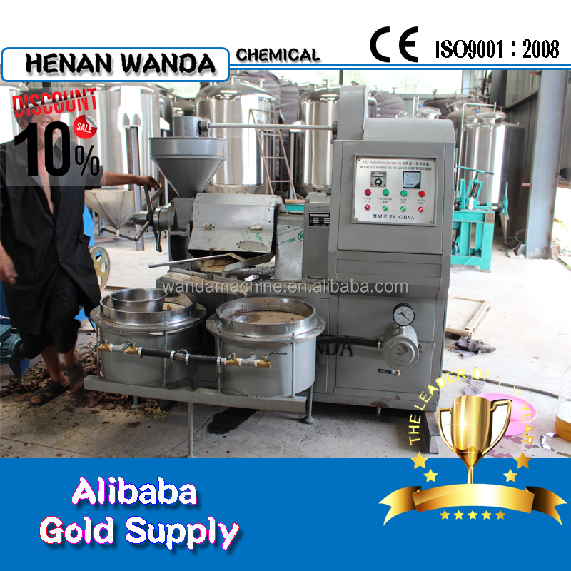 manufacture groundnut oil press machine/edible oil extraction machine