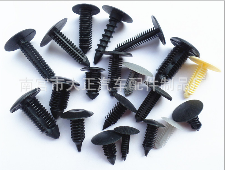 Best selling Various series push retainer clips black auto clips and plastic fastener