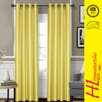 HLHT OKTEX 100 approved polyester elegant window curtain with factory price