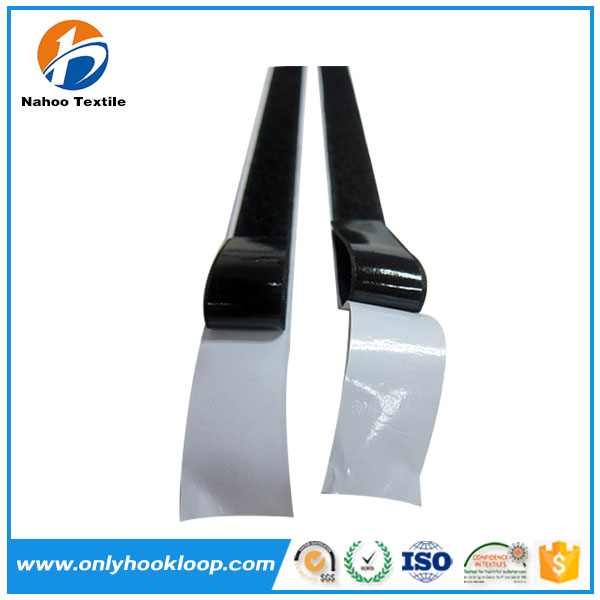 Usefull Adhesive hook loop strips stick tape, hook and loop with double sided