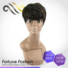 Exquisite Wholesale Unprocessed Topic Luxurious Hair Human Fantazy Wig Lace Short