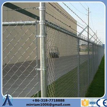 Buy Direct From China Wholesale grass land using removable black chain link fence