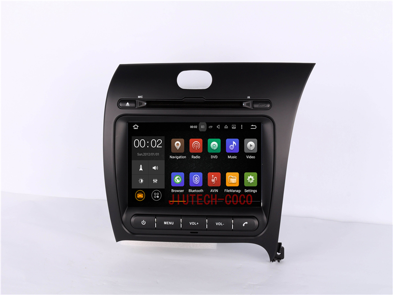 2 din android car stereo radio car dvd gps auto multimedia system for k ia cerato accesorios dvd player navigation system