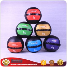 3kg colorful anti-slip rubber medicine ball