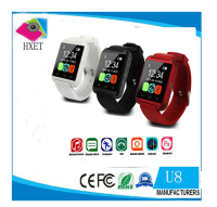2016 wholesale cheap price ce rohs U8 bluetooth smart wrist watch phone for android & iOS