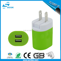 Cell phone 5v 3.4a for iphone5 5s battery charger