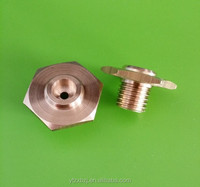 cnc machining brass quick release nuts
