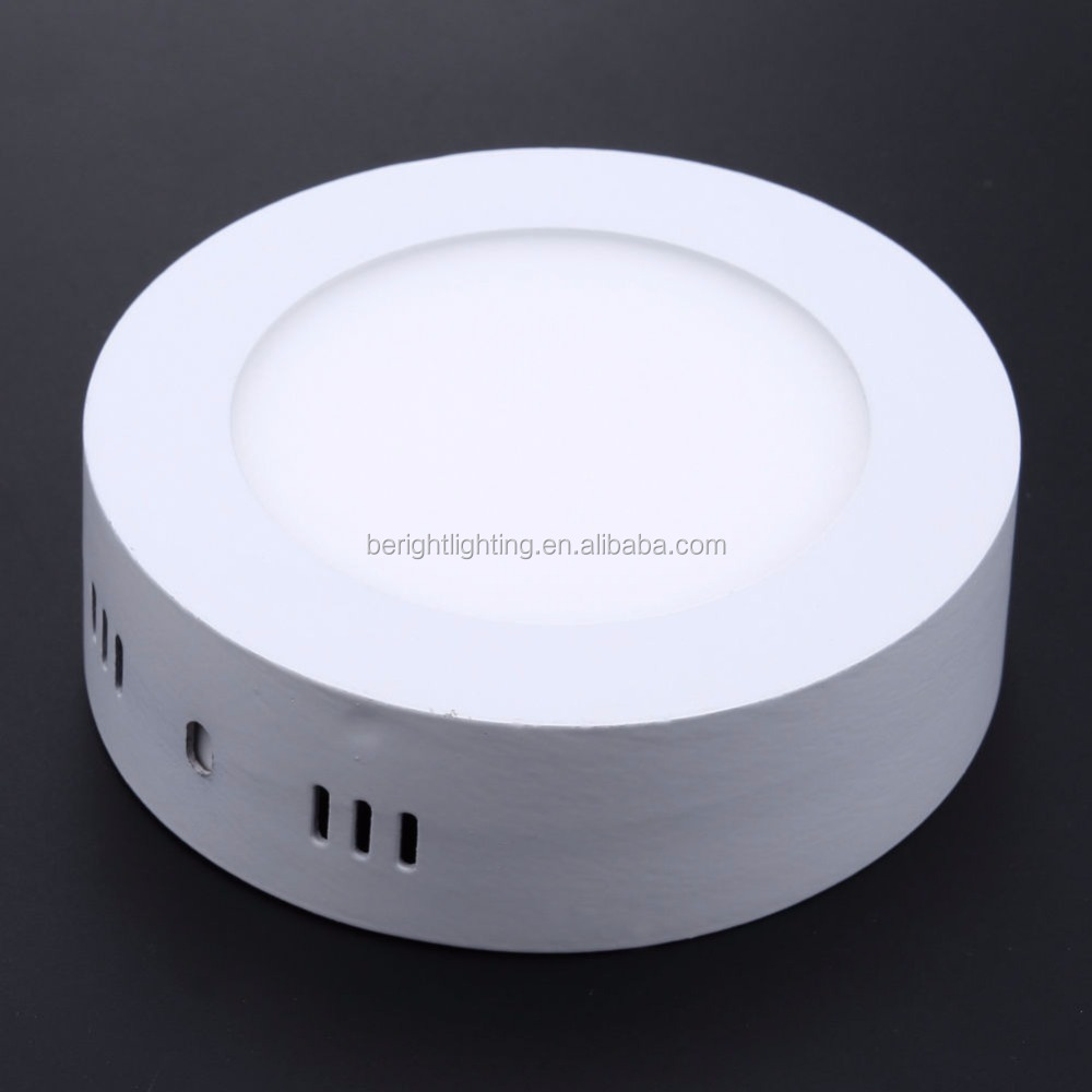 6W LED Ceiling Panel Surface Mounted Down Light Bulb Lamp W/ Driver Round