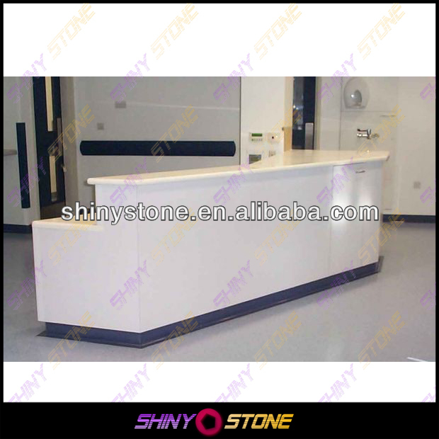 Contracted but not simple Design Acrylic Solid Surface Inquiry Counter