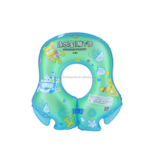 high quality EN71 phthalate free PVC inflatable baby float swim neck ring