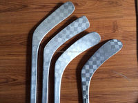 one-piece mold 100% carbon fiber pro ice hockey stick