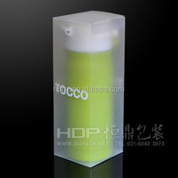 China printed pet packaging for vacuum bottle