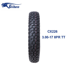 Motorcycle Tyre Price List Motocross Off Road Tire 3.00-17