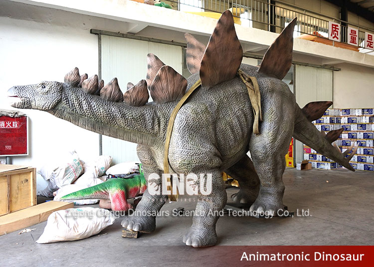 Electronic exhibition dinosaur for dinosaur park