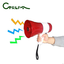 Portable recordable megaphone with USB