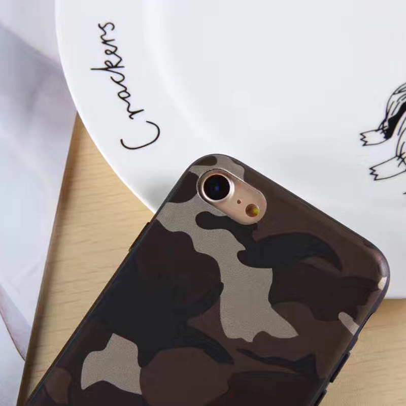 Promotional tpu camouflage case for iphone7,for iphone 7 camouflage case cover