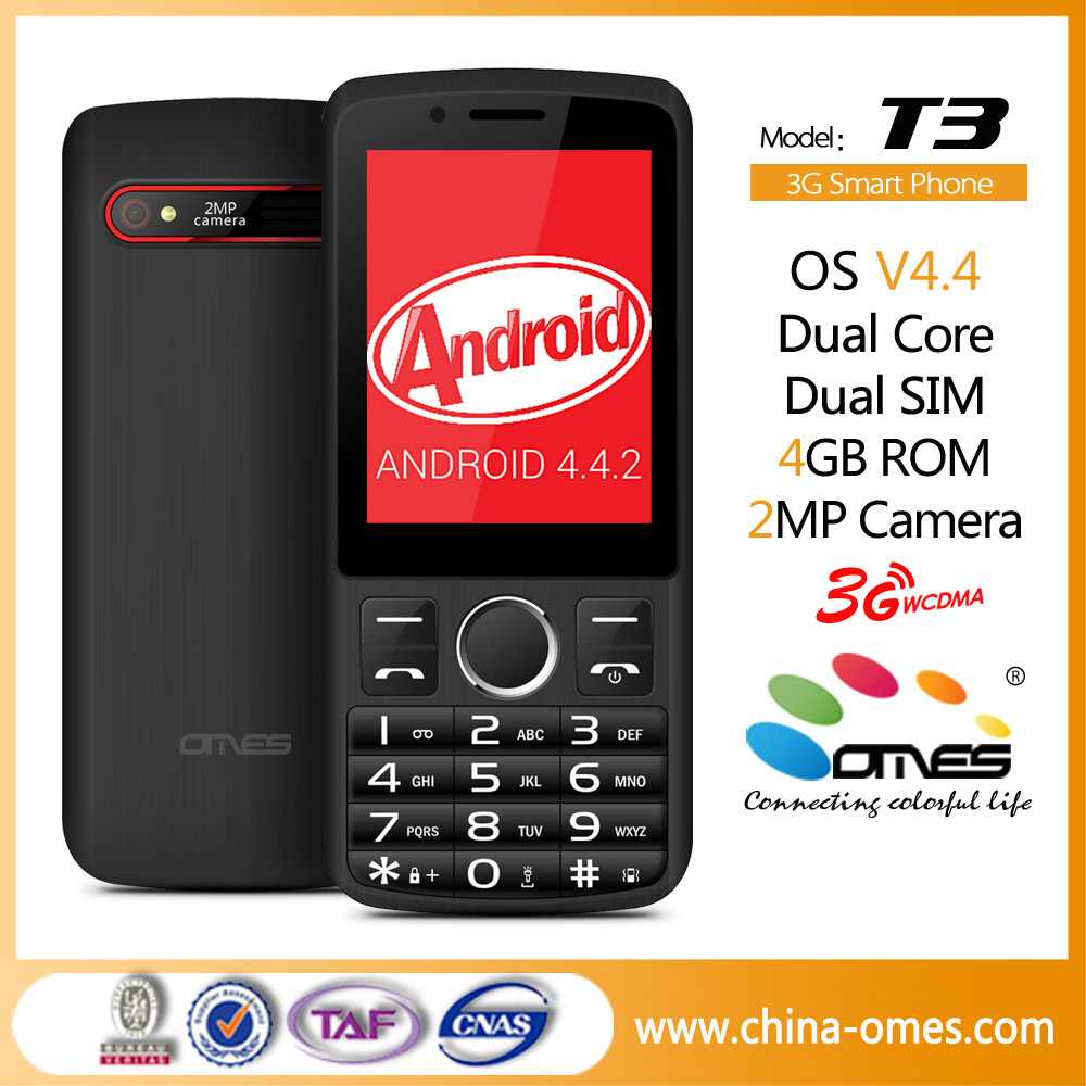 2.8inch MTK6572 dual core with touch screen, talking voice keypad / buttons, qwerty keypad android mobile phone