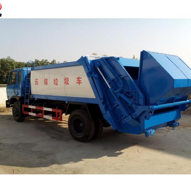 8000-12000 Liter compression garbage truck ,dustcart, waste collection truck for sale