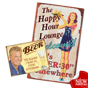 vintage tin signs custom antique signs