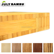 Carbonized vertical 3 layer 3mm to 40mm cheap bamboo plywood for furniture for exterior doors