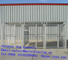 Metal pet fences grid galvanized portable dog kennels 2.9x4.5x1.8m XXXL large dog kennels mesh panels outdoor dog kennels