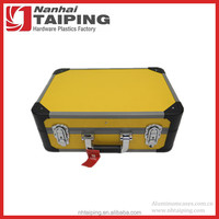 Yellow Aluminum Shockproof Case Beach Tool Box Medical Tool Box