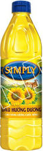 Cooking Oil Simply Sunflower Oil 1L