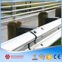 ADTO Group China Manufacture Steel Highway Guardrail Professional Design with All Parts Expressway Guard Rail Road Safety 2016