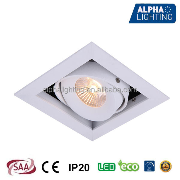 warm white 8W 700mA movable light fixture of ceiling