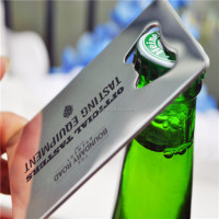 Customized Stainless Steel Credit Card Shape
