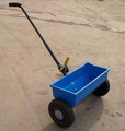 2.3kg weight garden fertilizer spreader with solid tyre and certificate