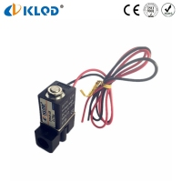 Ningbo Kailing Mini Type Plastic Low Power Water Solenoid Valves in China