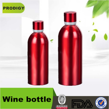 Aluminum wine bottle beer bottle for vodka napoleon brandy by cixi prodigy
